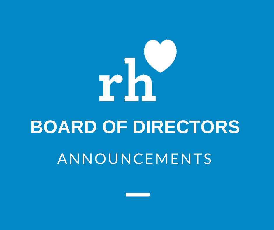 We've Got Lots of Board of Directors Updates to Share!