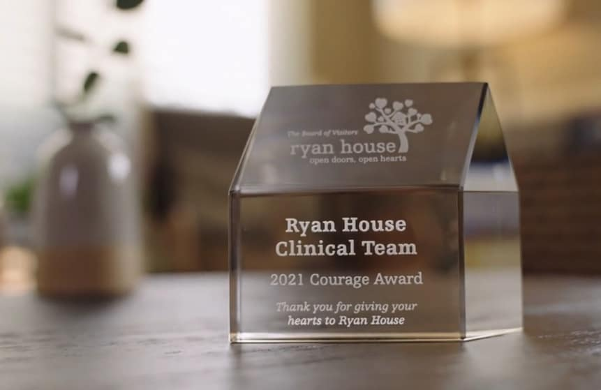 Ryan House's Care Team Receives Courage Award at This Year's Community Breakfast!
